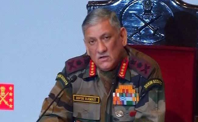 सेना प्रमुख बिपिन रावत का पाकिस्तान को कड़ा संदेश, जरूरत पड़ी तो फिर होगी सर्जिकल स्ट्राइक