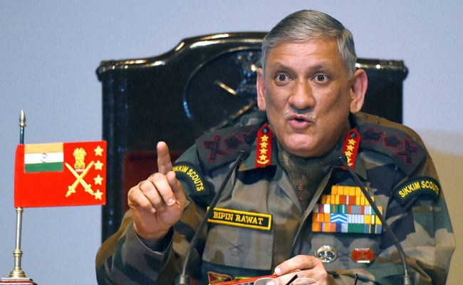 Army chief visits J&K, tells his troops to be prepared
