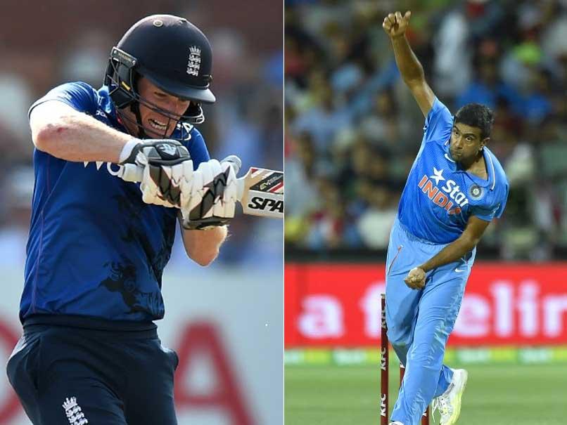 India vs England: Player Face-Offs - Ravichandran Ashwin vs Eoin Morgan