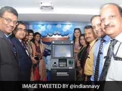 Aircraft Carrier INS Vikramaditya Gets Onboard ATM Machine