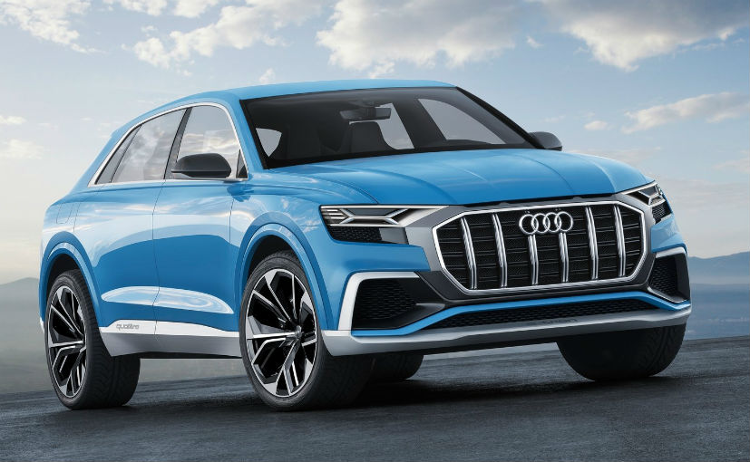 2017 Detroit Auto Show: Audi Q8 SUV Concept in Bombay Blue Showcased ...