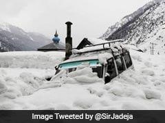 Medium Danger Avalanche Warning For Some Areas In Kashmir, Himachal Pradesh