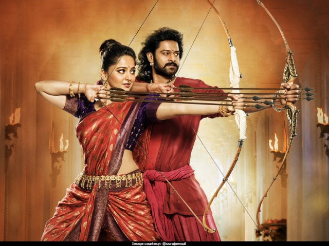 Baahubali 2: A Stunning Poster, Starring Prabhas, Anushka Shetty As Amarendra And Devasena