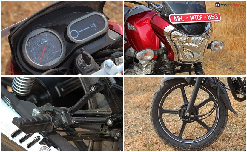 bajaj v12 features