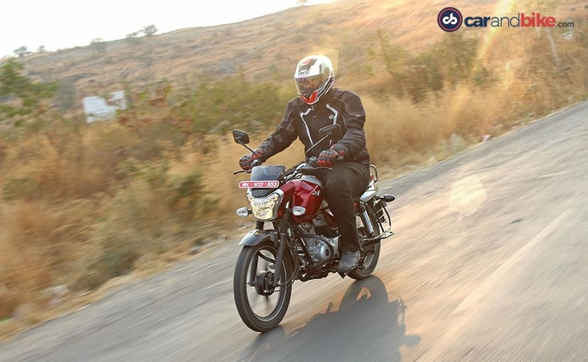 bajaj v12 ride and handling