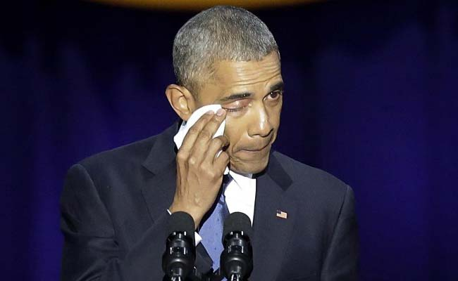 Barack Obama In Tribute To Wife Michelle Calls Her His