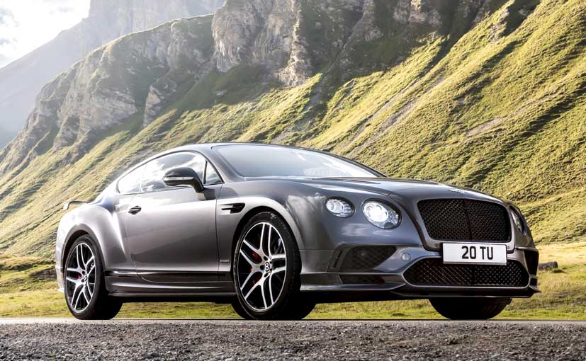 The Bentley Continental Supersports Is The Most Powerful Bentley Ever