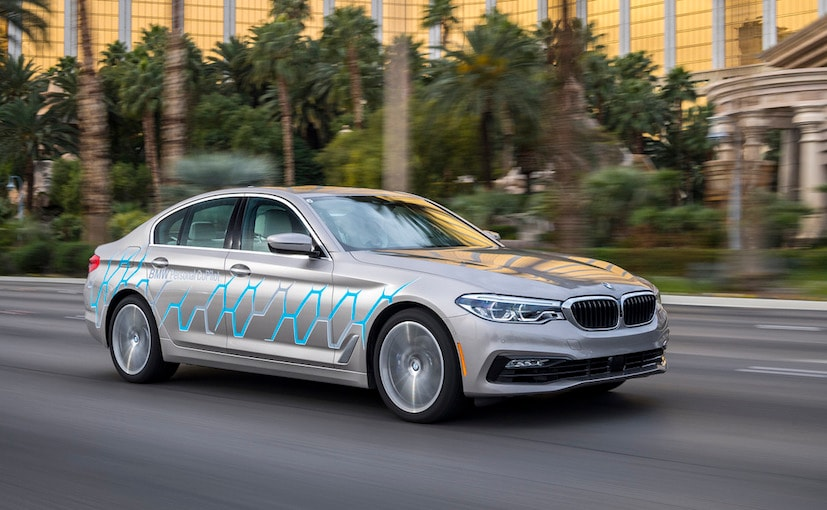 bmw 5 series autonomous driving prototype