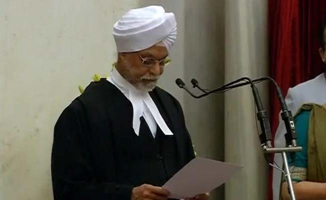 Chief Justice JS Khehar Recommends Justice Dipak Misra As His Successor