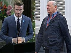 David Beckham, Ron Dennis Square Up At New Year's Eve Show In Maldives