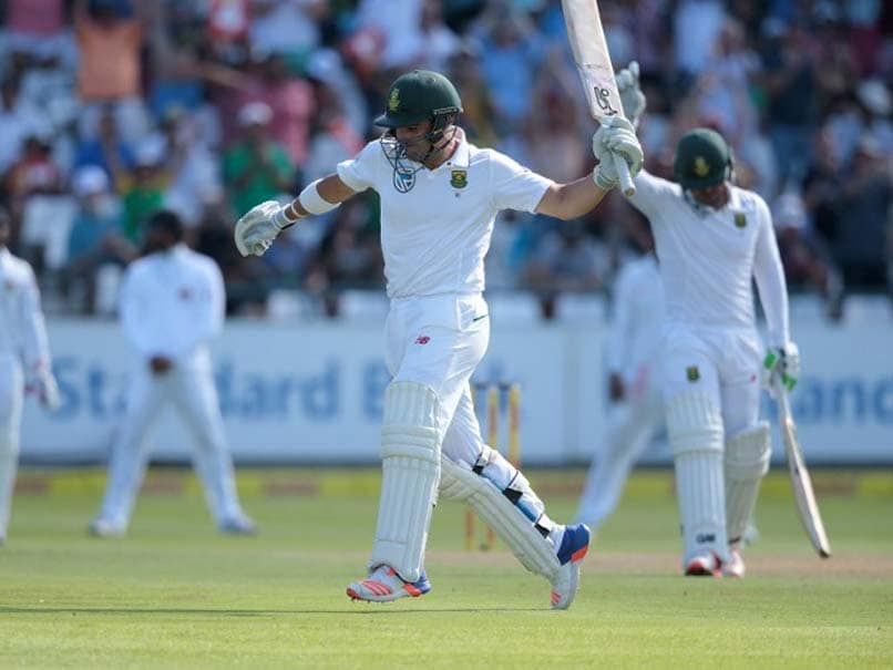2nd Test: Dean Elgar's Ton Steers South Africa Out of Trouble on Day 1