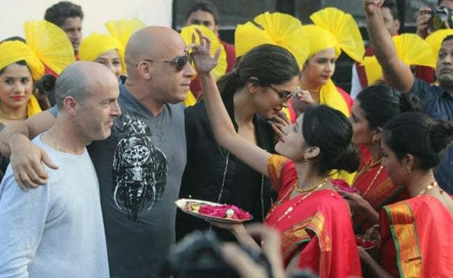 दीपिका पादुकोण और विन डीजल हाथ में हाथ डाले पहुंचे भारत