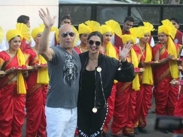 Deepika Padukone, Vin Diesel Arrive In India For xXx: The Return Of Xander Cage, Hand-In-Hand