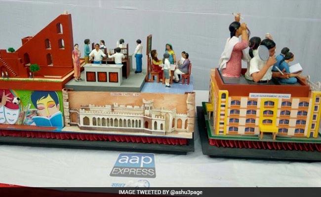 Republic Day Parade Delhi Tableau Model Government School To