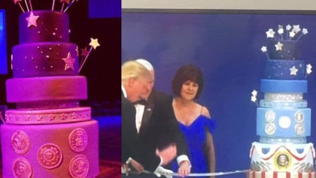 Donald Trump's Inaugural Cake Commissioned to Look Like Barack Obama's, Baker Says