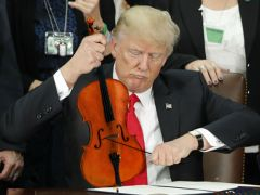 Donald Trump's Pic Of Capping A Pen Prompts Hilarious Photoshop Battle
