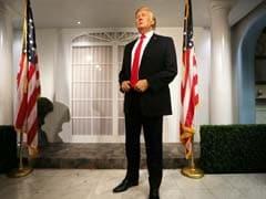 Donald Trump Waxwork Replaces Barack Obama At Madame Tussauds London