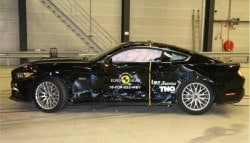 Ford Mustang Scores 2-Star Rating In Euro NCAP Crash Test