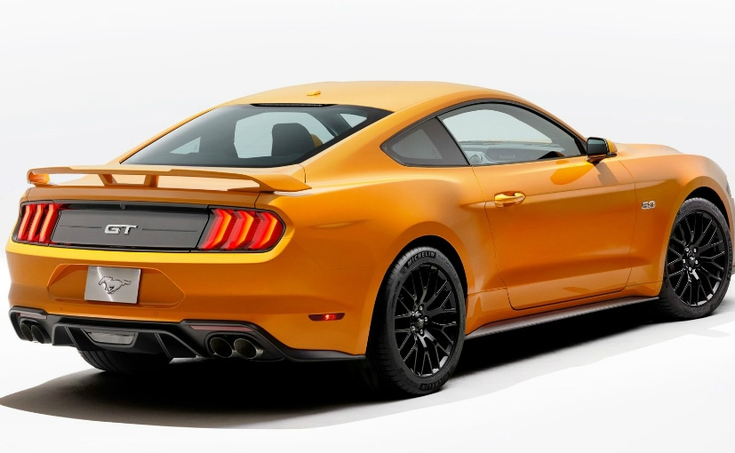 Ford Mustang Facelift Rear Design