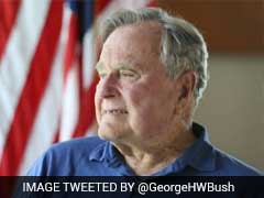 George H.W. Bush Hospitalised In Houston: Reports
