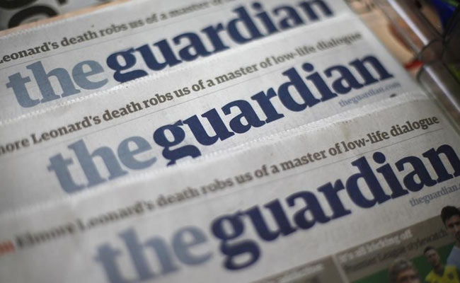 UK's Guardian Could Go Tabloid, Switch To Rival's Presses: Sources
