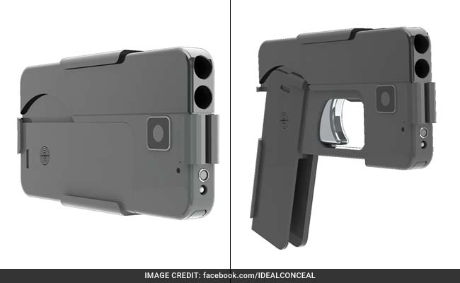 Foldable iPhone Gun Puts Europe Police On Alert