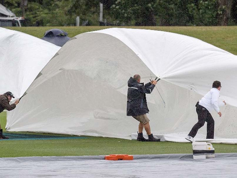 New Zealand-Bangladesh Test Third Day Washed Out