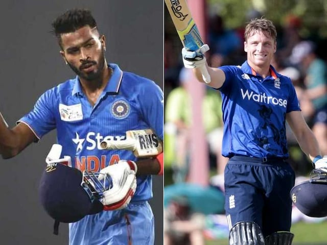 India vs England: Player Face-Offs - Hardik Pandya vs Jos Buttler