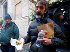 After Vatican Controversy, McDonald's Helps Feed Homeless In Rome