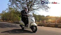 Honda Activa 3G With CNG Kit Review