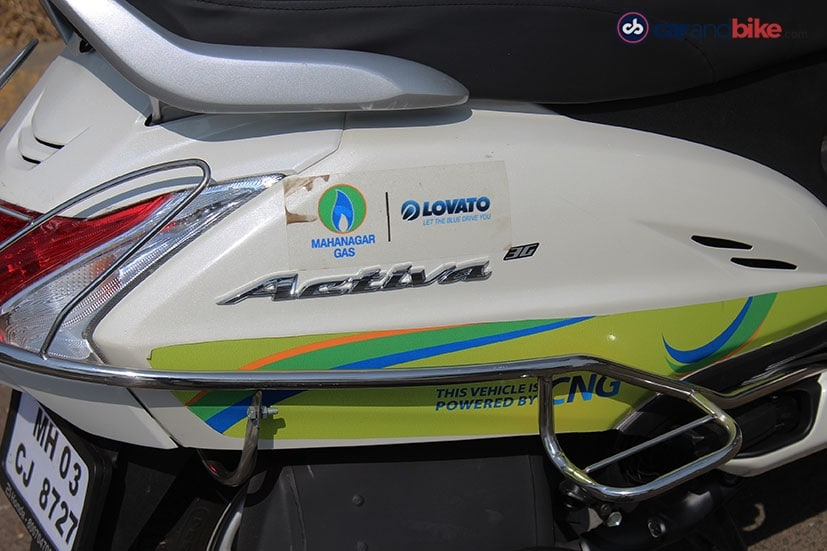 honda activa cng kit review