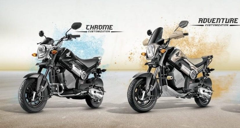 honda navi chrome and adventure edition