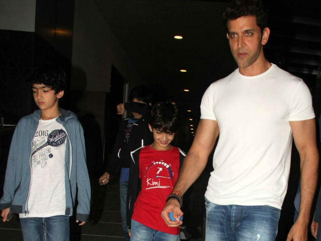 On Hrithik Roshan's Birthday, His 10 Best Insta Moments With Sons