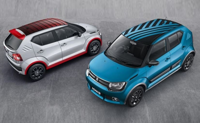 maruti ignis custom roof wraps