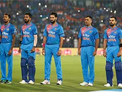 2nd T20I: Indian Players Wear Black Armbands Following Death of U-19 Fitness Trainer