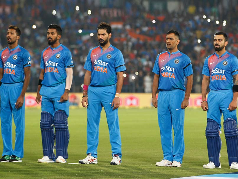 2nd T20i Indian Players Wear Black Armbands Following Death Of U 19