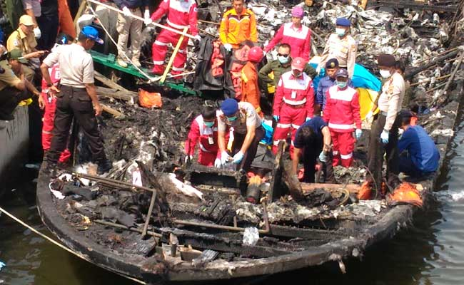 Anxious Families Wait As 193 Still Missing After Indonesia Ferry Disaster