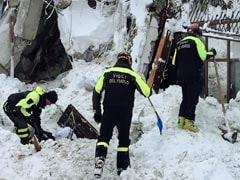 6 People Found Alive In Italian Avalanche Rescue Operation