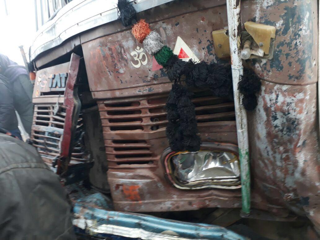 jaipur car pile up