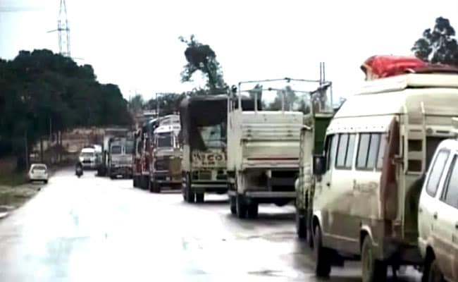 Jammu-Srinagar Highway Reopens After Traffic Disruption Due To Landslide