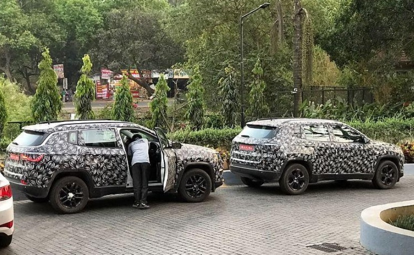 India-Spec Jeep Compass Cabin Revealed In Latest Spy Shots; Launch In Mid-2017