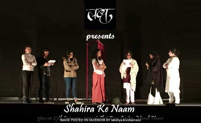 Delhi College Theatre Group Disqualified For Saying These Words On Stage