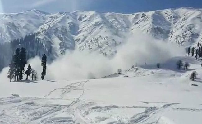 Avalanche Warning In Jammu And Kashmir Districts