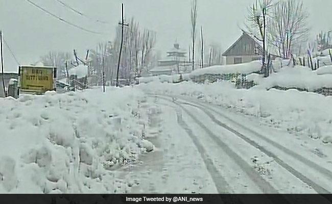High Danger Avalanche Warning In Jammu And Kashmir, Himachal Pradesh