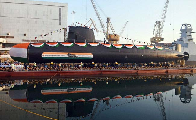 Khanderi, India's Second Scorpene-Class Submarine, Launched: Key Features In 10 Points