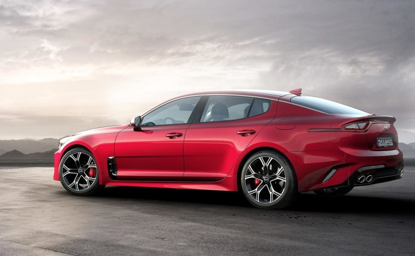 kia stinger side profile