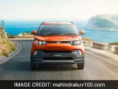 Mahindra & Mahindra Rolls Out Upgraded KUV100