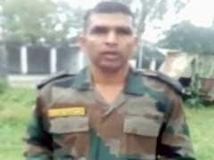 Army Orders Psych Evaluation Of Jawan Who Alleged Harassment In Video