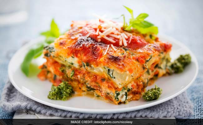 Vegetable Lasagne Recipe Ndtv Food