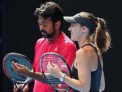 Leander Paes-Martina Hingis Pair Crashes Out of Australian Open